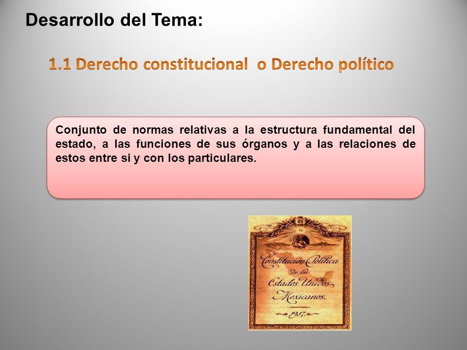 El derecho constitucional como conjunto de normas de conducta posee atributos esenciales concurrentes como: Bilateralidad- porque regula los actos exteriores del hombre.