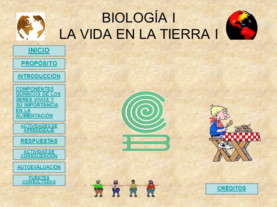 Actividad de aprendizaje 1 Componentes Químicos de los seres vivos Instrucciones: Escribe en el paréntesis de la izquierda la letra de la opción correcta.