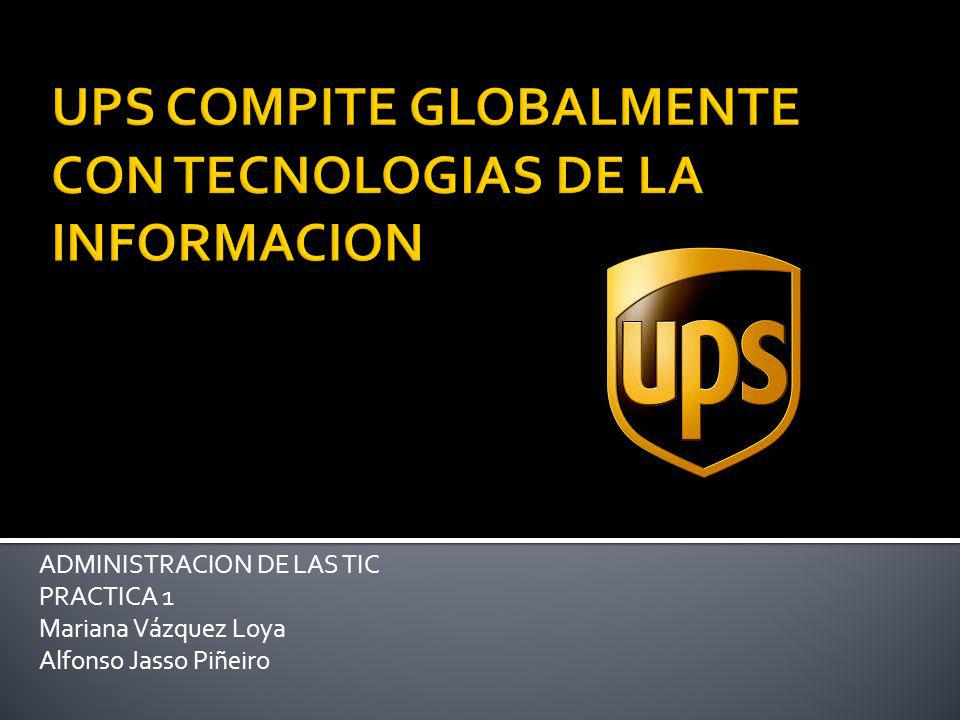 ADMINISTRACION DE LAS TIC PRACTICA 1 Mariana Vázquez Loya Alfonso Jasso Piñeiro