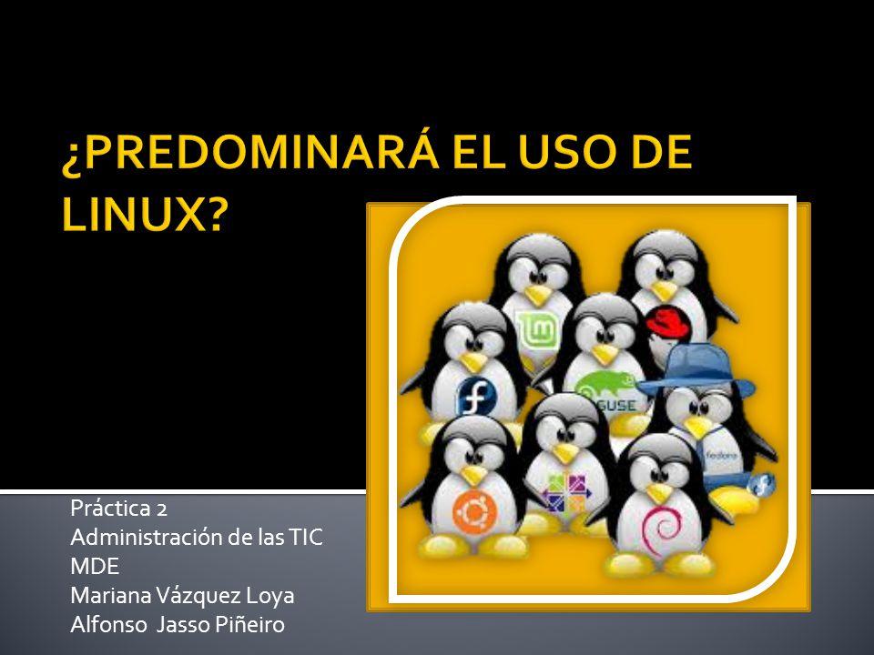 Práctica 2 Administración de las TIC MDE Mariana Vázquez Loya Alfonso Jasso Piñeiro