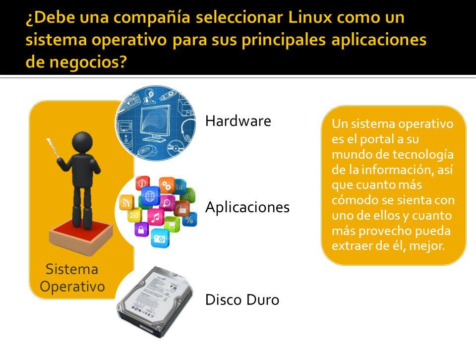 Compatibilidad Seguridad Facilidad de uso Estabilidad Acceso a las fuentes Independencia del proveedor Rapidez con que incorpora los adelantos tecnológicos Escalabilidad Activa comunidad de desarrollo a su alrededor Interoperabilidad