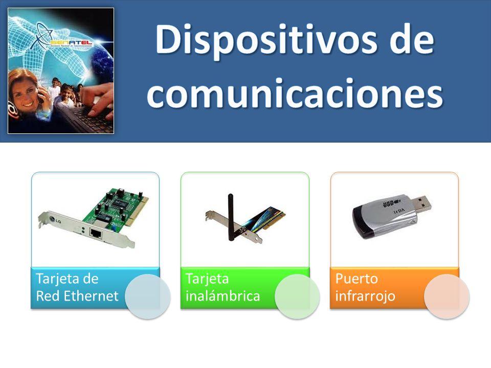 Tarjeta de Red Ethernet Tarjeta inalámbrica Puerto infrarrojo