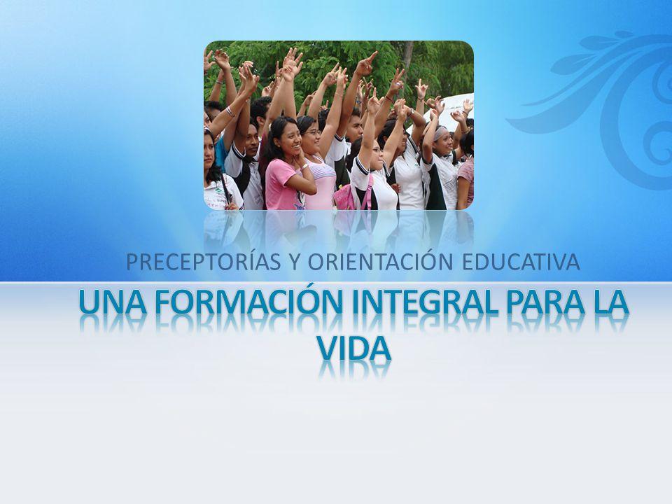 PRECEPTORÍAS Y ORIENTACIÓN EDUCATIVA
