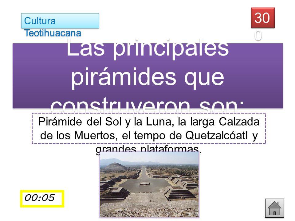 ¿Quién es Bill Gates? Las principales pirámides que construyeron son: Pirámide del Sol y la Luna, la larga Calzada de los Muertos, el tempo de Quetzal