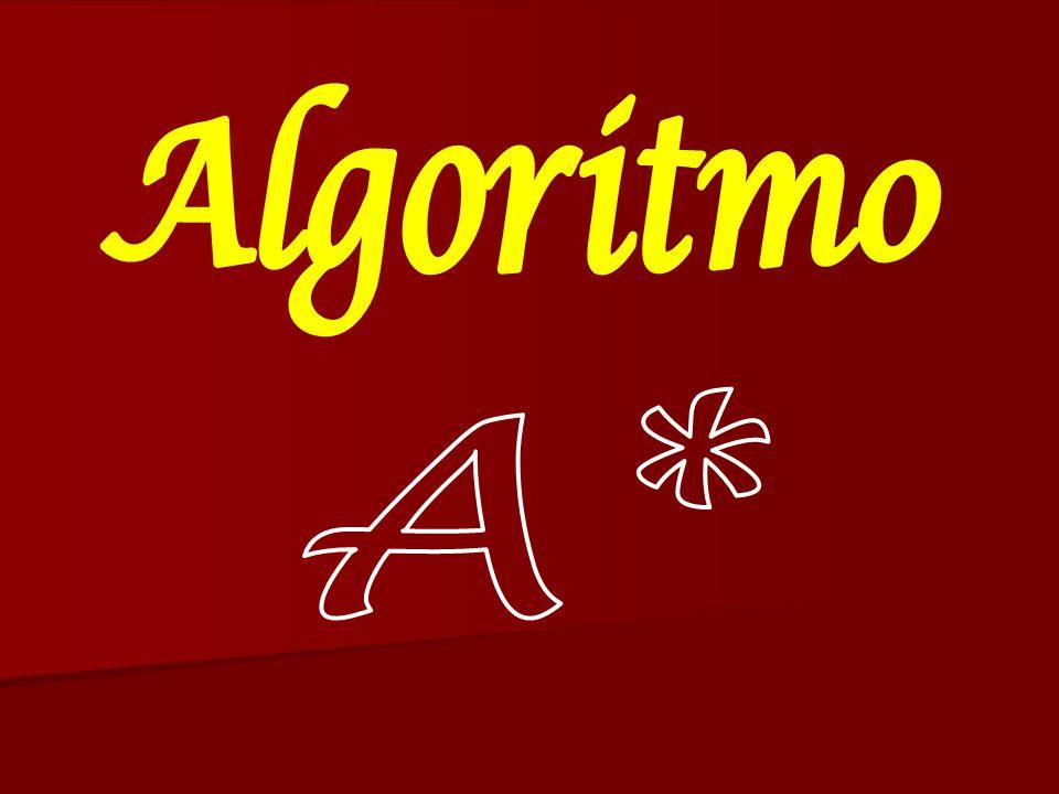 Ejemplo de A*SRM A B G I H JK C D EF 0+12=12 8+5=13 10+5=15 20+0=20 20+5=25 30+5=3530+0=30 24+0=2424+5=29 24+0=24 16+2=18 10 8 168 8 8 10 Valor para c/nodo G+H=F Nodos meta