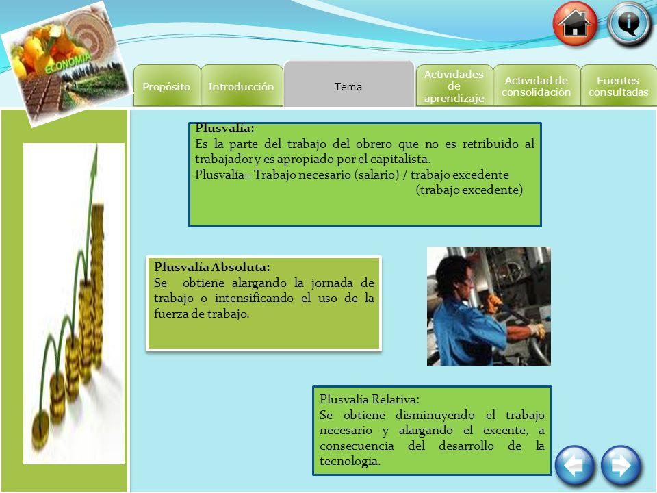 Fuentes consultadas Fuentes consultadas Actividad de consolidación Actividad de consolidación Actividades de aprendizaje Actividades de aprendizaje Te