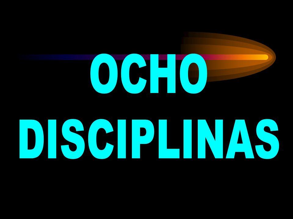 DISCIPLINA: Identificar e implementar acciones correctivas permanentes.