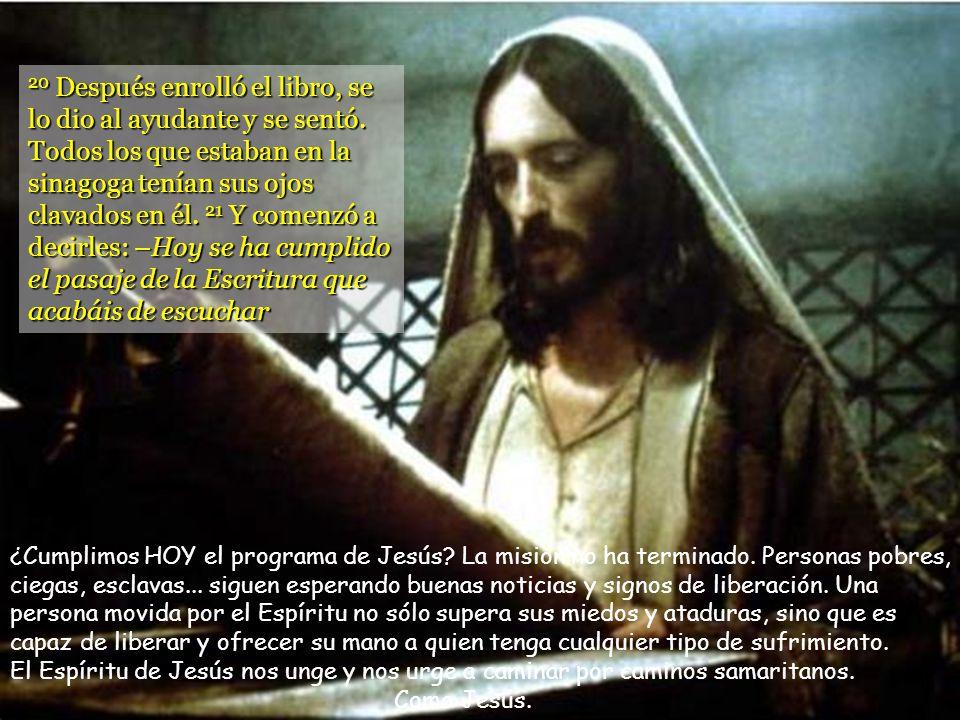 19 y a proclamar un año de gracia del Señor. Andrés Torres Queiruga). En el programa de Jesús hay un concepto importante: año de gracia. Se celebraba