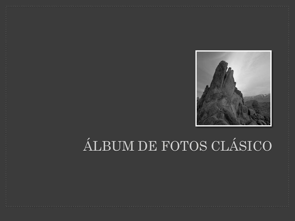 Este álbum de fotos contiene ejemplos de páginas para comenzar.