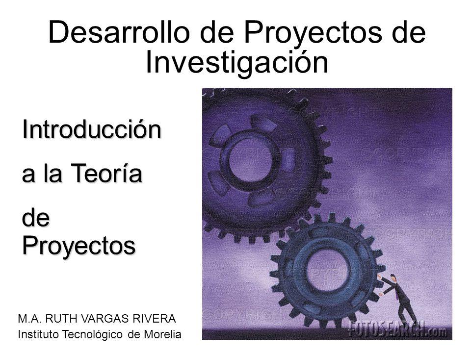 Desarrollo de Proyectos de Investigación M.A.