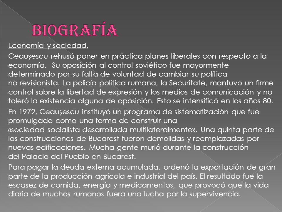 Economía y sociedad.