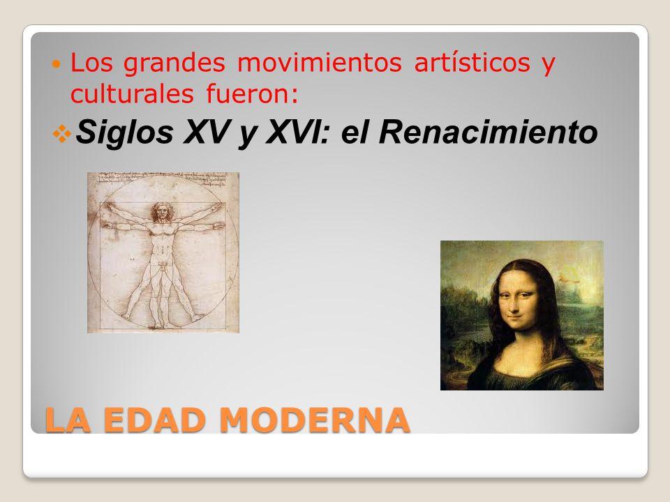 LA EDAD MODERNA Siglo XVII: El Barroco