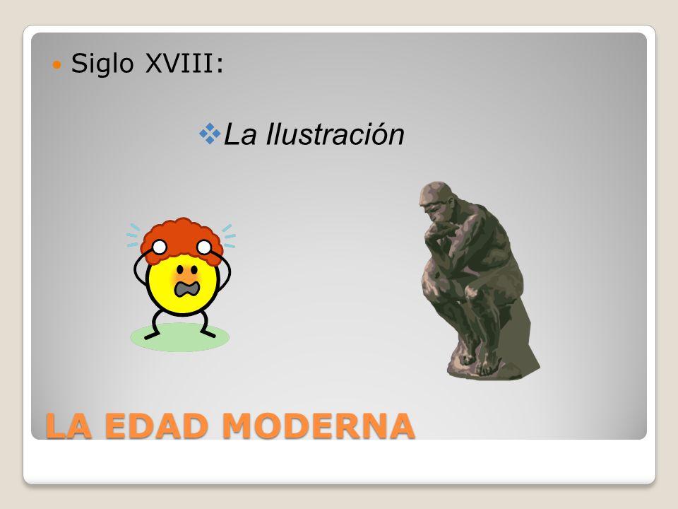 LA EDAD MODERNA Siglo XVIII: La Ilustración