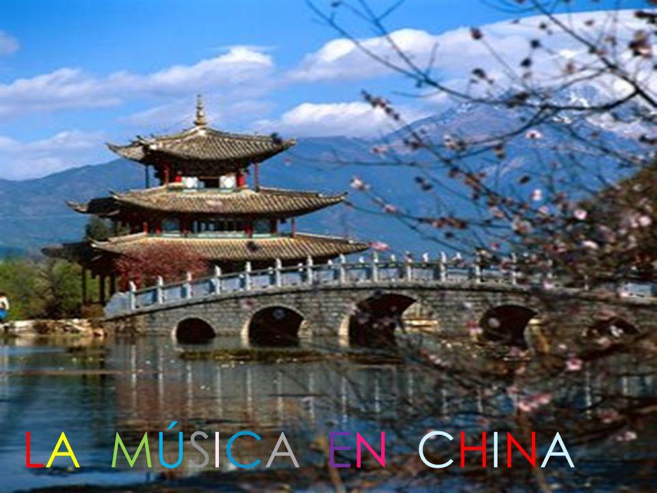 Los orígenes de la música china están documentados desde el año 3000 a.C.
