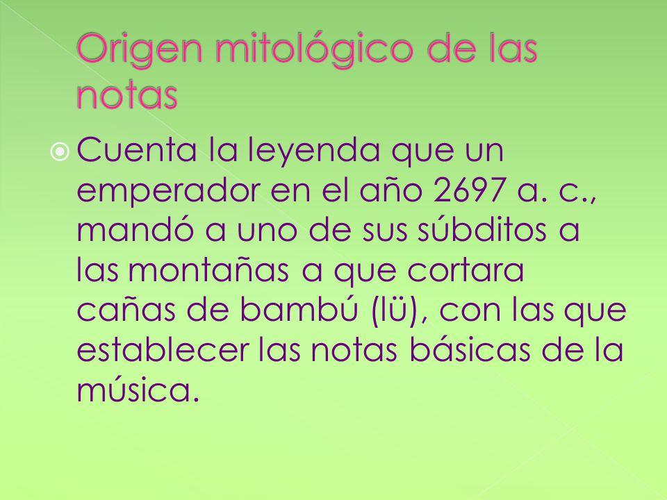 Confucio decía que la música influye en el orden cosmológico y en la armonía del ser humano.