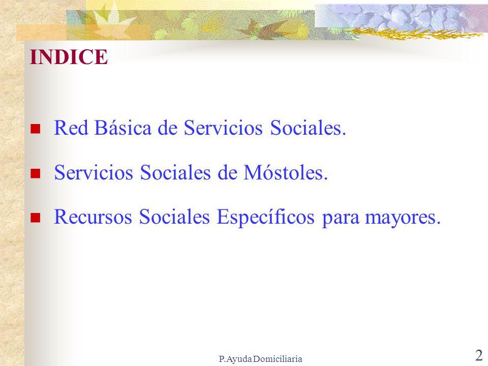 P.Ayuda Domiciliaria 32 RESIDENCIAS TEMPORALES Servicio que presta: Atención temporal en residencias para mayores de la Comunidad de Madrid.