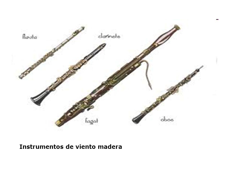 Instrumentos de viento madera