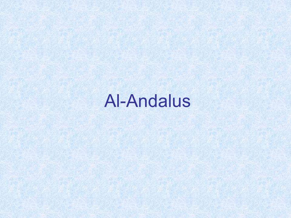 La formación de Al-Andalus: El emirato La conquista A principio del siglo VIII un ejército musulmán dirigido por Tariq desembarcó en Gibraltar Los musulmanes derrotaron al rey visigodo dons Rodrigo en la batalla del Gaudalete (711) Pronto desembarcó un ejército más poderoso mandado por Muza, gobernador del norte de África En cuatro años, los musulmanes se apoderaron de toda la Península Ibérica, a excepción de alguna zonas montañosas del norte.
