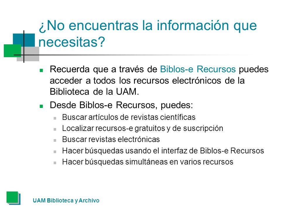 ¿No encuentras la información que necesitas.