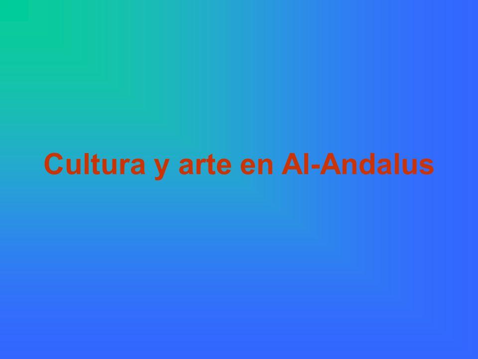 La cultura en Al-Andalus La cultura musulmana en la Península Ibérica constituyó un permitió la transmisión a Europa de muchas obras de la Antigüedad clásica, por medio de traducciones y comentarios.