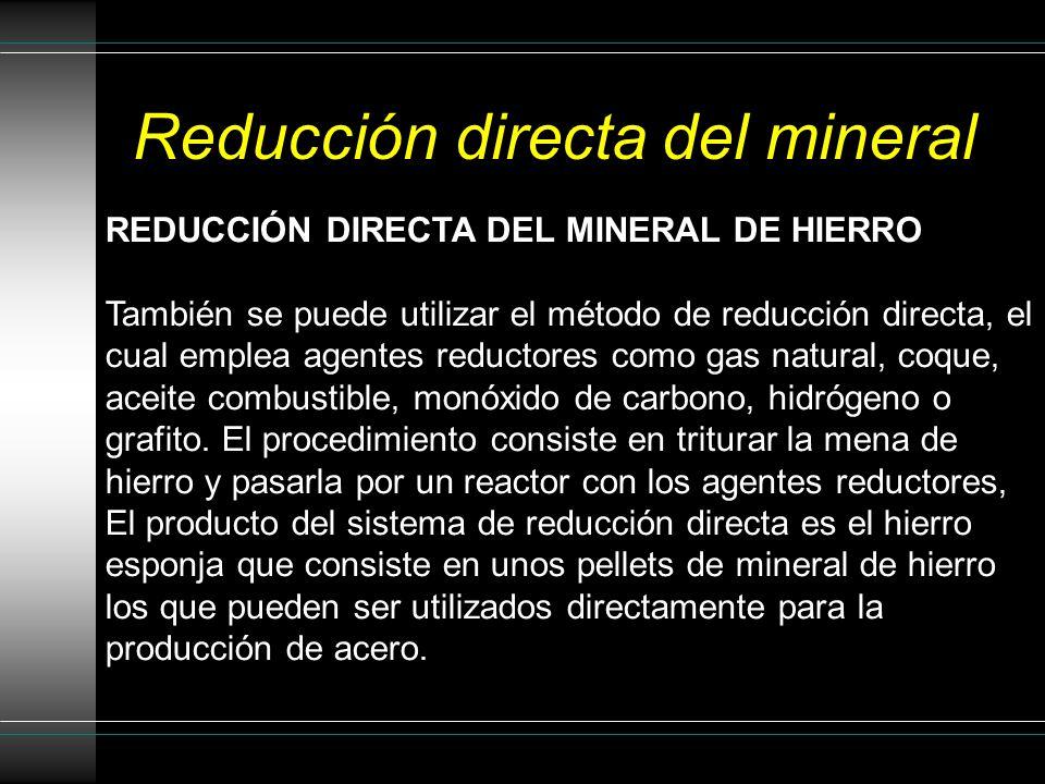 Alto Horno Mineral, piedra caliza y coque CO, CO 2, NO 2 Tobera para suministro de aire caliente Boquilla de soplado de aire caliente Escoria Hierro f