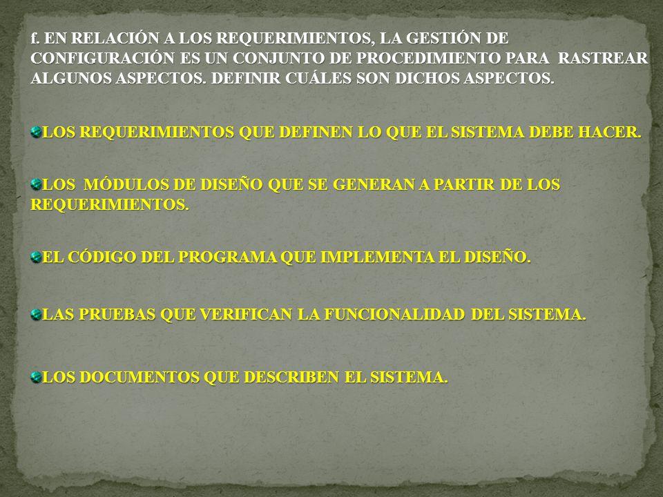 PAQUETES DE SOFTWARE Y ESTUDIOS DE VIABILIDAD ¿El Informe presenta los requisitos preliminares.