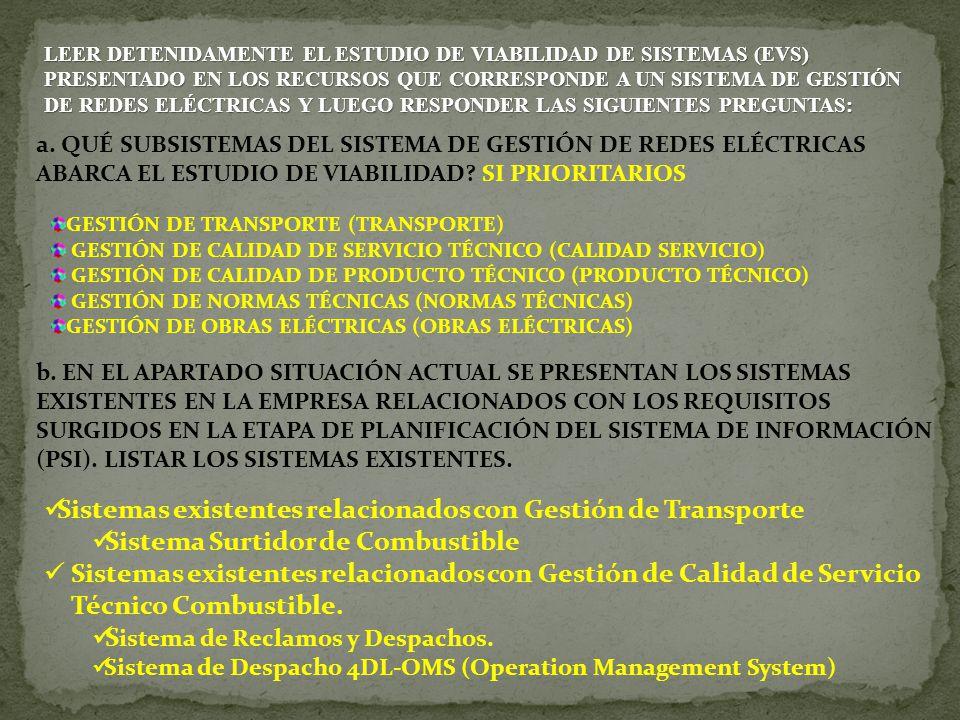 EVS3: IDENTIFICACIÓN DE LOS REQUISITOS DEL SISTEMA CATÁLOGO DE REQUISITOS: FACT1.
