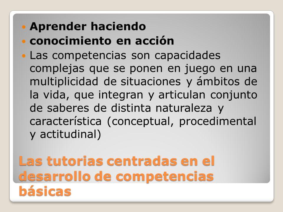 NUCLEOS DE CONTENIDO TUTORES Y ACCION TUTORIAL ENSEÑAR A DECIDIRSE: toma de decisiones.