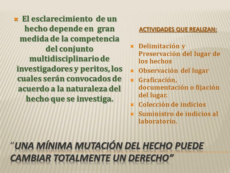 - Fuentes, Ariel E.LUGAR DEL HECHO, IMPORTANCIA Y PROTOCOLO DE TRABAJO -Caro, Patricia M.