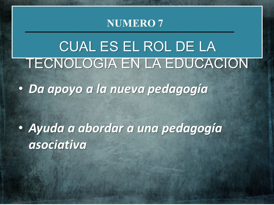 Da apoyo a la nueva pedagogía Da apoyo a la nueva pedagogía Ayuda a abordar a una pedagogía asociativa Ayuda a abordar a una pedagogía asociativa NATI