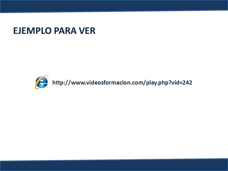 http://www.videosformacion.com/play.php?vid=242 EJEMPLO PARA VER