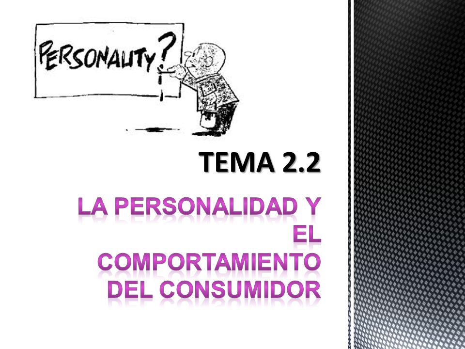 Concepto de personalidad Se define como aquellas característica psicológicas internas que determinan y reflejan la forma en que un individuo responde a su ambiente.