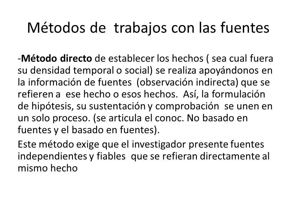 Método filológico es un tipo de metodología indirecta.
