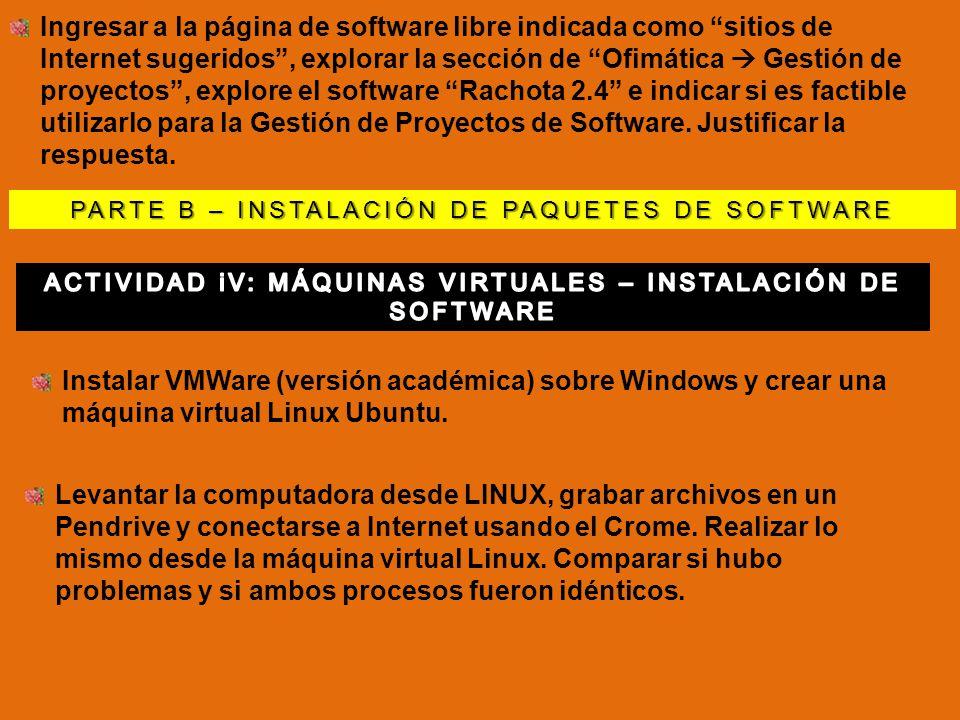 Para bajar e instalar el Virtual box Para bajar e instalar el Virtual box: www.virtualbox.orgwww.virtualbox.org Una vez instalada, aparece una pantalla como la que se muestra, sin MV creadas.