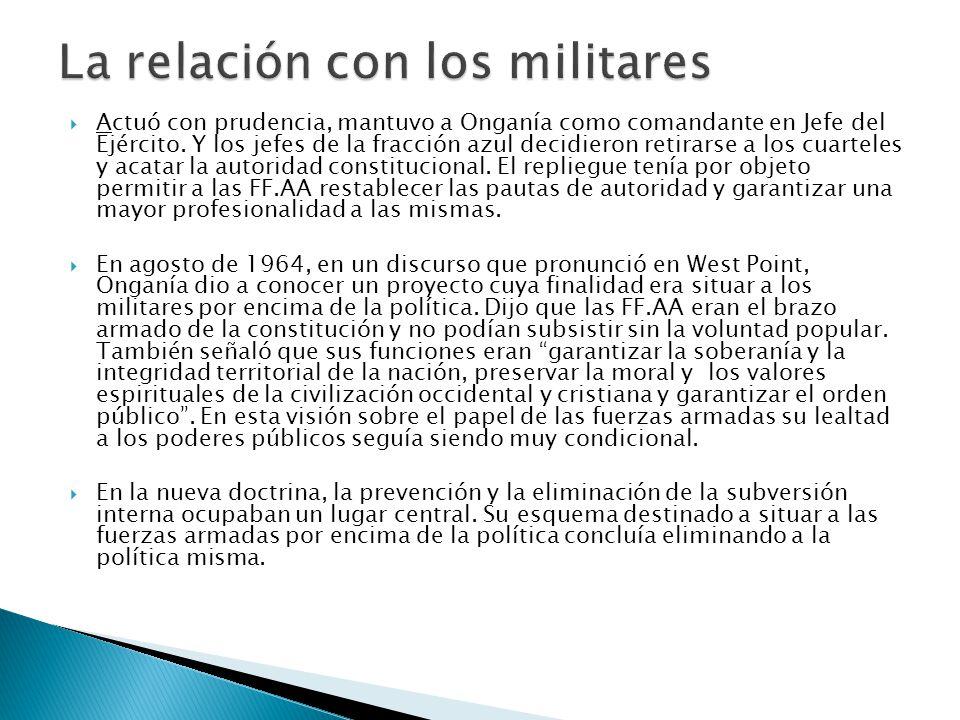 El PRDP se mantuvo fiel a sus tradiciones y convicciones económicas.