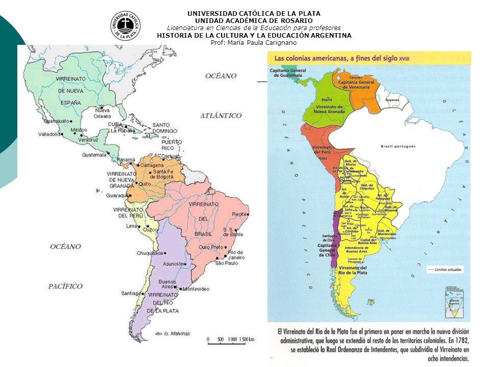 UNIVERSIDAD CATÓLICA DE LA PLATA UNIDAD ACADÉMICA DE ROSARIO Licenciatura en Ciencias de la Educación para profesores HISTORIA DE LA CULTURA Y LA EDUC