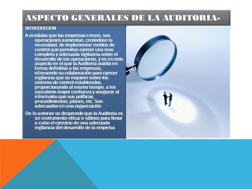 La responsabilidad de la del informe de auditoría es del auditor encargado aunque también comparten esta responsabilidad, los miembros del equipo de auditoría.