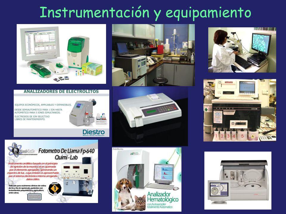 Instrumentación y equipamiento 38