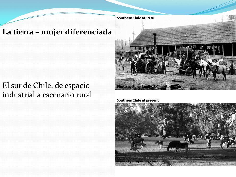 La tierra – mujer diferenciada El sur de Chile, de espacio industrial a escenario rural
