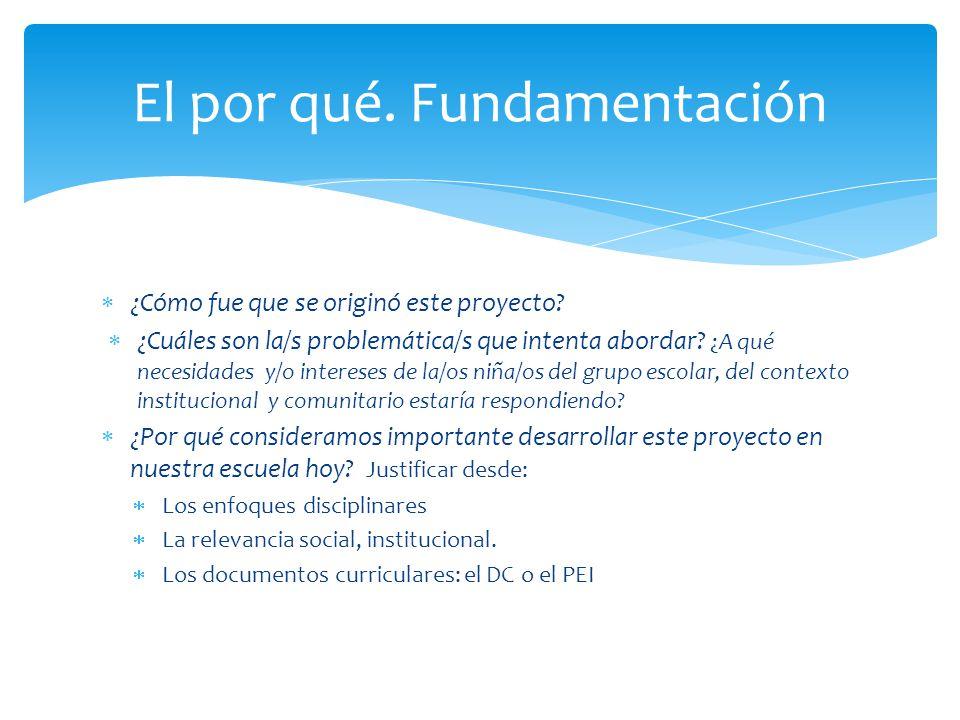 Expresan la intencionalidad de la tarea educativa, dando dirección y sentido al proceso educativo.