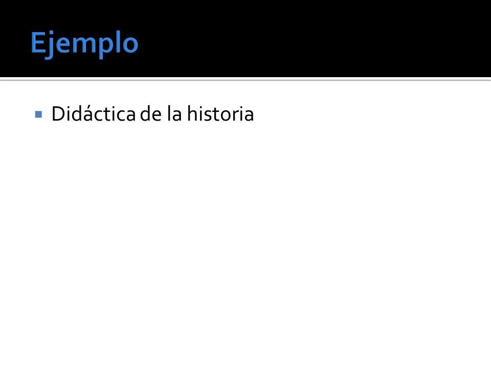 Didáctica de la historia