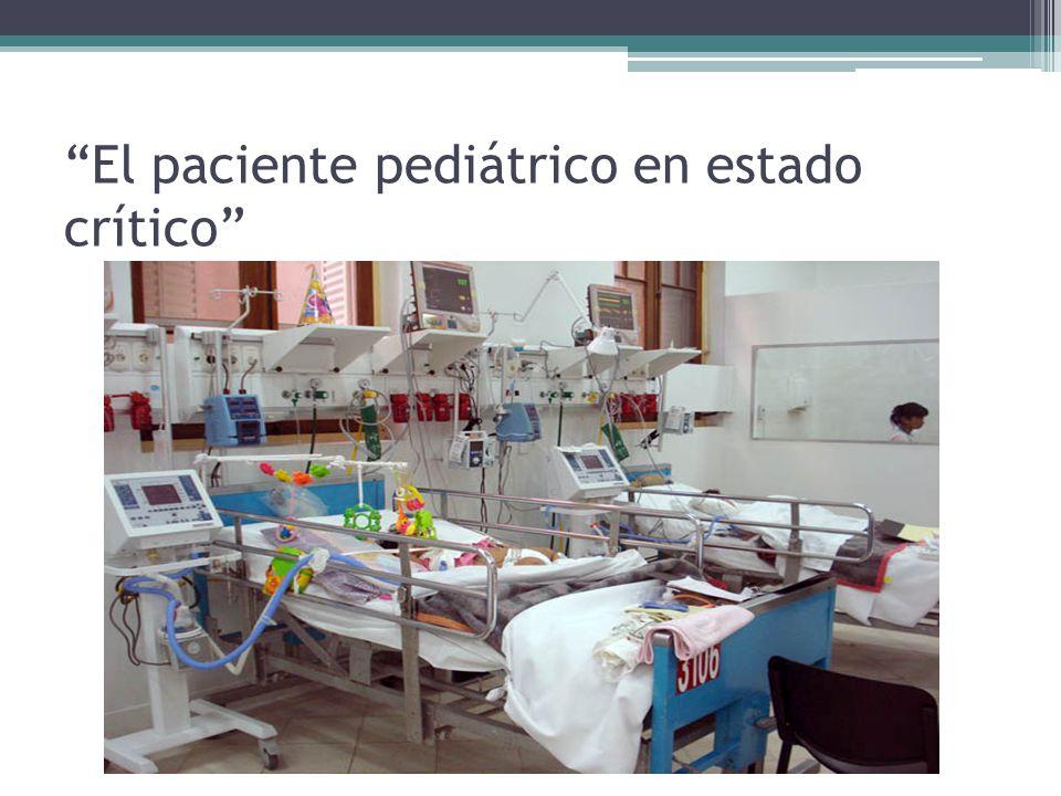 Particularidades…… Los cuidados intensivos pediátricos se han convertido en una subespecialidad dedicada al estudio de la fisiopatología de las enfermedades que amenazan la vida y al desarrollo de técnicas para vigilancia y tratamiento de estos pacientes.