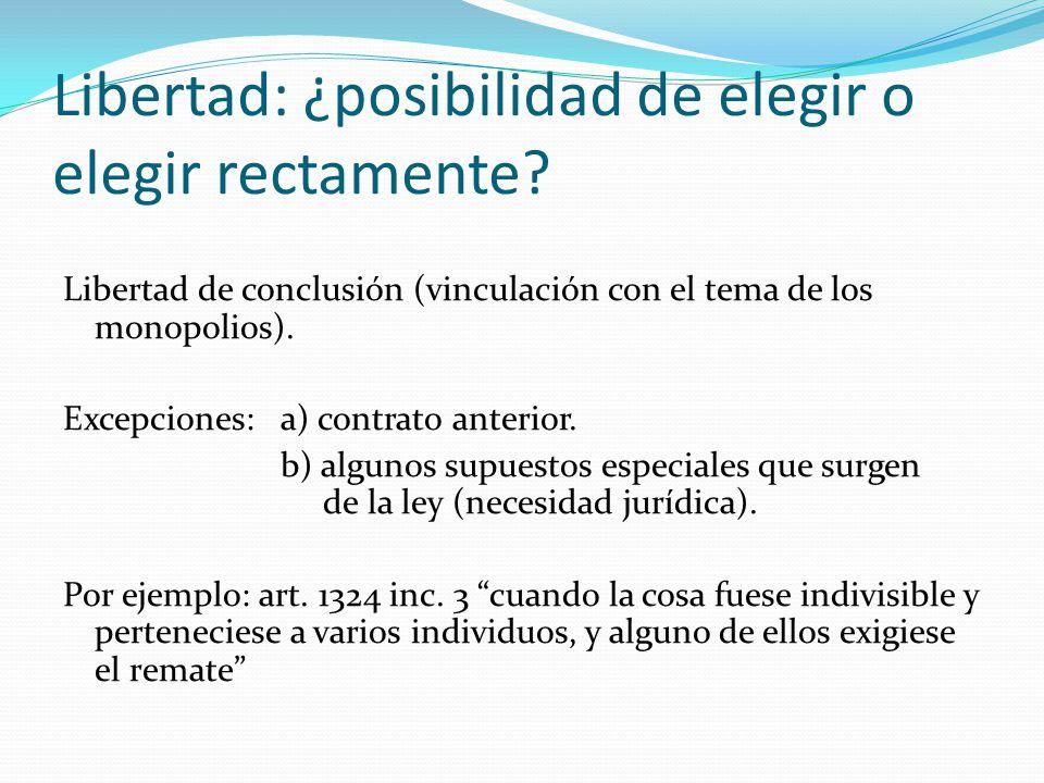 Libertad de configuración Posibilidad de determinar el contenido contractual.