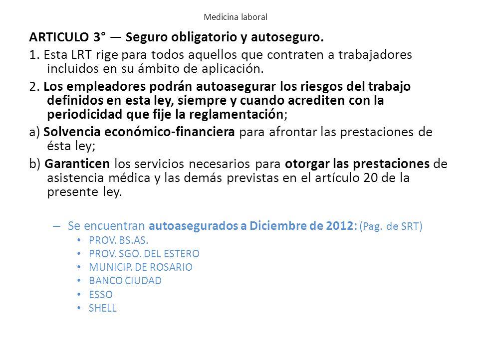 Decreto 334/96 Reglamentación de la Ley Nº 24.557.
