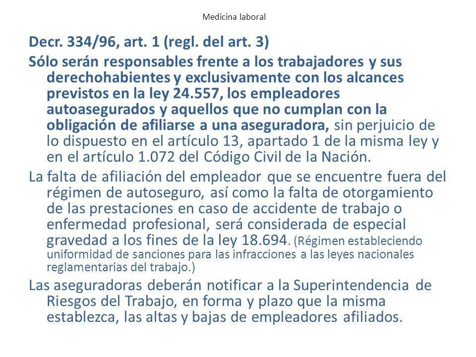 CAPITULO II DE LA PREVENCION DE LOS RIESGOS DEL TRABAJO ARTICULO 4° Obligaciones de las partes.