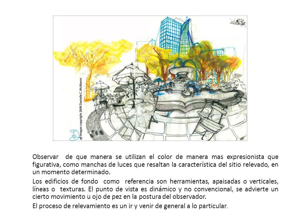 El relevamiento En un espacio abierto, sin límites como los espacios urbanos, es importante obtener su propio marco delimitador.