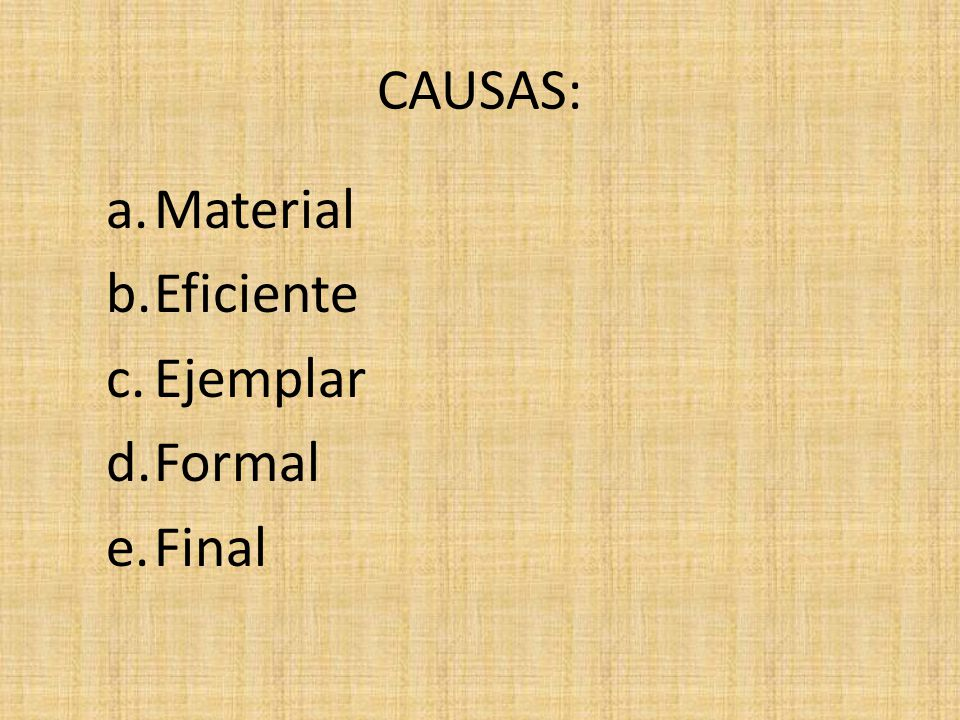 CAUSA FINAL B.CONTROL JURÍDICO: objetivado, parámetros jurídicas, necesario, órgano independiente.