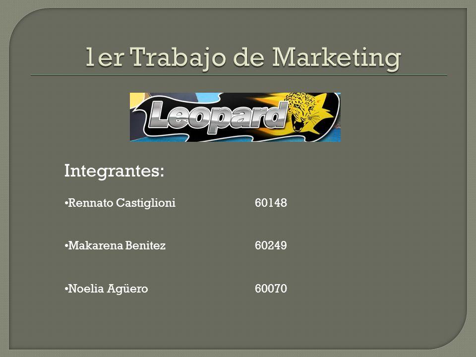 Integrantes: Rennato Castiglioni60148 Makarena Benitez60249 Noelia Agüero60070