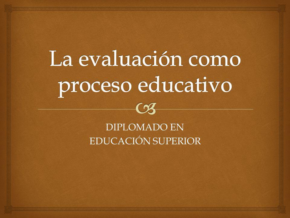 DIPLOMADO EN EDUCACIÓN SUPERIOR