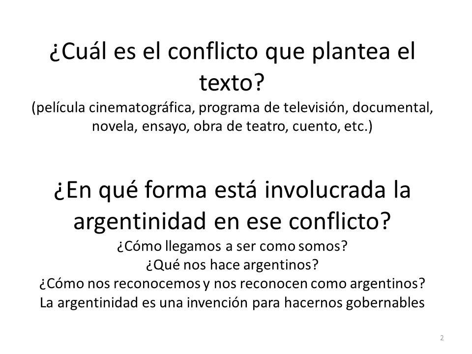 2 ¿Cuál es el conflicto que plantea el texto.